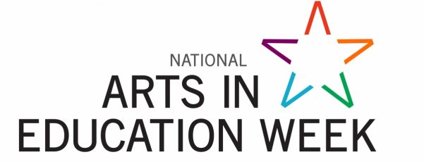 logo and banner for National Arts in Education Week
