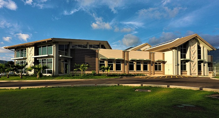 Nanakuli Public Library photo by Glenn Miura