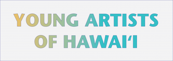 Image of text: Young Artists of Hawaii