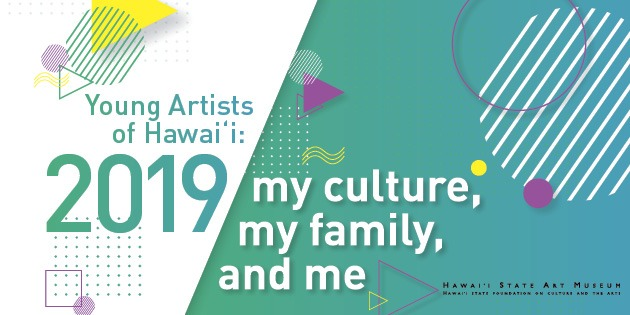 Promotional graphic for Young Artists of Hawaii.