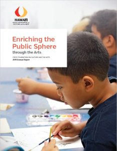 Cover of the annual report.
