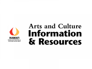 Graphic with SFCA logo and words 'Arts and Culture Information and Resources'.