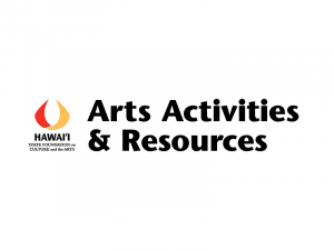 SFCA Logo and text 'Arts Activities and Resources'