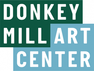 Text logo for the Donkey Mill Art Center